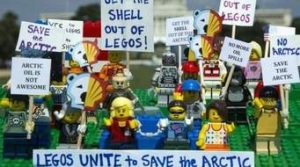 Greenpeace LEGO Protest Viral Images